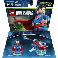 LEGO Dimensions 1: DC Superman Fun Pack (For PS3/PS4/Xbox 360/Xbox One)