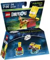 LEGO Dimensions 1: Simpsons Bart Fun Pack (For PS3/PS4/Xbox 360/Xbox One)
