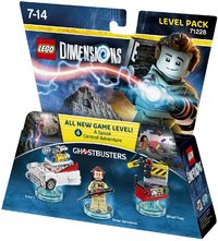 LEGO Dimensions 1: Ghostbusters Level Pack (For PS3/PS4 ... Xbox 360 Game Cover Size