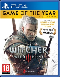 The Witcher 3: Wild Hunt - Game of the Year Edition (PS4) - Cover