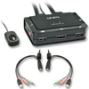 Lindy 2port HDMi KVM With USB - Audio Compact