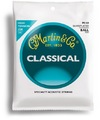 Martin M160 Classical Silver Plated High Tension Nylon Classical Guitar Strings - Ball End