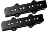 DiMarzio DP249BK Area J Jazz Bass Bass Guitar Pickup Set – Neck and Bridge (Black)