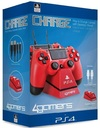 4Gamers - Twin Charge Play and Charge Cables - Red