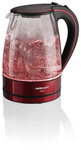 Mellerware - Glass Kettle - 360 Degree Red Vision (1.7 Litre)