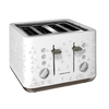 Morphy Richards - Toaster 4 Slice 1800w Plastic Prism White