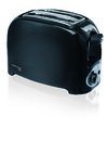 Mellerware - Toaster 2 Slice 750w Cooltouch Black - Eco
