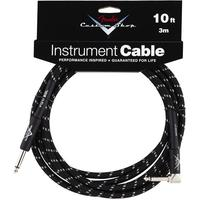 Fender Custom Shop Performance Series Instrument Cable - 10ft (Stright -Right Angle)