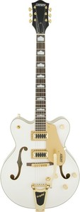 Gretsch G5422TG Electromatic Hollow Body Double-Cut with Bigsby and Bag (Snowcrest White)