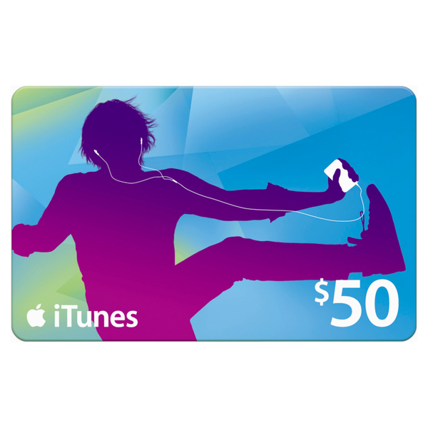 iTunes Card $50 (Only works on US Apple Accounts)