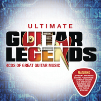 Various Artists - Ultimate... Guitar Legends (CD) - Cover