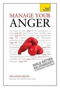 Manage Your Anger: Teach Yourself - Dr. Sandi Mann (Paperback) - Cover