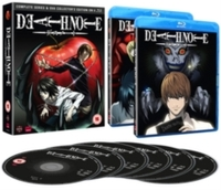 Death Note: Complete Series and OVA Collection (Blu-ray) - Cover