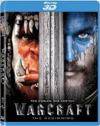 Warcraft: The Beginning (2016) (3D Blu-ray) - Cover