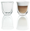 De'Longhi - Double Wall Thermo Cappucino Glasses (Set of 2)