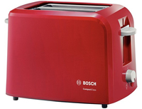 Bosch - 2 Slice Toaster Compactclass - Red - Cover