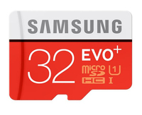 Samsung - Evo Plus Micro SD 32GB SDXC Memory Card - Cover