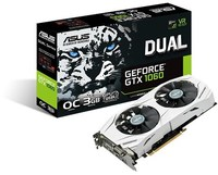 ASUS nVidia GeForce GTX 1060 DUAL OC - 3GB Graphics Card - Cover