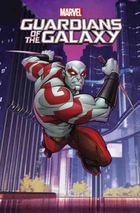 Marvel Guardians of the Galaxy 4 - Todd Garfield (Paperback) - Cover