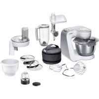 Bosch - Universal Food Processor - White/Silver - Cover