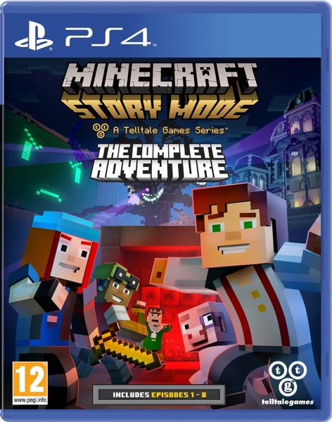Kết quả hình ảnh cho Minecraft Story Mode - The Complete Adventure cover ps4