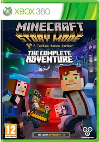 Minecraft Story Mode: The Complete Adventure (Xbox 360) - Cover