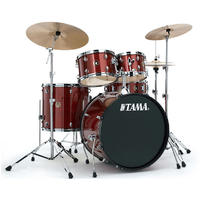 TAMA RM52KH6C-RDS Rhythm Mate 5pc Drum Kit with Hardware and Cymbals (22 10 12 16 14 Inch)