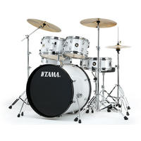 TAMA RM52KH6C-WH Rhythm Mate 5pc Drum Kit with Hardware and Cymbals (22 10 12 16 14 Inch)