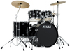 TAMA SG52KH6C-BK Stagestar 5pc Drum Kit with Hardware (22 10 12 16 14 Inch)