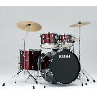 TAMA SG52KH6C-WR Stagestar 5pc Drum Kit with Hardware (22 10 12 16 14 Inch)