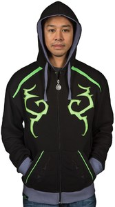 World of Warcraft Legion - Illidan Mens Black Hoodie (Small) - Cover