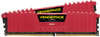 Corsair Vengeance LPX  32GB (16GB x 2 kit) DDR4-2666 CL16 1.2v - 288pin Memory (Red)