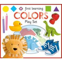 First Learning Colors Play Set - Priddy Books (Hardcover)
