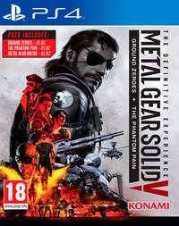 Metal Gear Solid V: The Definitive Experience (PS4) - Cover