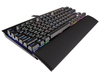 Corsair - K65 RGB Lux - Cherry MX Red Switch Mechanical Gaming Keyboard