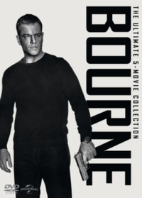 Bourne: The Ultimate 5-movie Collection (DVD) - Cover