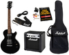 Marshall MGAP Electric Guitar and Amplifier Guitar Combo (Black)