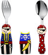 Eat 4 Fun - Duo Pirate Fork and Spoon