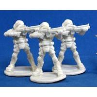 Bones: Chrono: Nova Corp: Guard (3) (Miniatures)