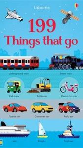 199 Things That Go - Jessica Greenwell (Board book) - Cover