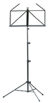 Nomad NBS-1102 Sheet Music Stand Three-Teir with Bag (Black)