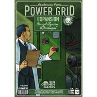Power Grid - Brazil / Spain & Portugal Expansion (Board Game)