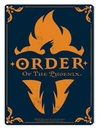 Harry Potter – Order of the Phoenix A3 Metal Wall Sign (Metal Wall Sign A3)