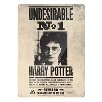 Harry Potter – Undesirable Nº1 A3 Metal Wall Sign