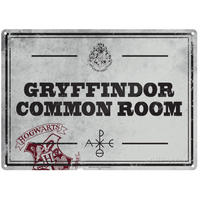 Harry Potter – Common Room A5 Metal Wall Sign