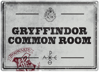 Harry Potter – Common Room A5 Metal Wall Sign - Cover
