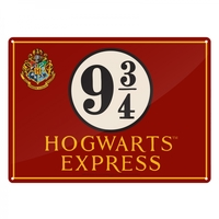 Harry Potter – Hogwarts Express A5 Metal Wall Sign - Cover