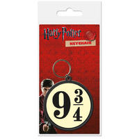 Harry Potter – 9 and Three Quarters Rubber Keyring