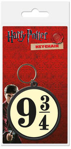 Harry Potter – 9 and Three Quarters Rubber Keyring - Cover