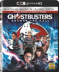 Ghostbusters: Answer the Call (Region A - 4K Ultra HD + Blu-Ray) - Cover